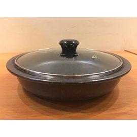 楓樹陶坊能量陶鍋~平煎盤1200cc~直徑26公分 高6公分