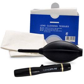 單眼必備清潔用品單眼相機吹球拭鏡筆四件超值清潔組(NLP-1)