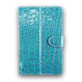 超 9吋 皮革鱷魚紋多角度支撐平板電腦 可立式皮套 保護套