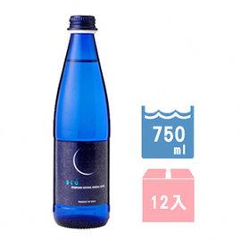 ↘86折Galvanina 義大利羅馬之源天然氣泡礦泉水~藍月系列750ml^(12入 箱