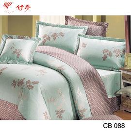 ~舒夢睡眠館~點綴春色 雙人床包兩用被組  精梳棉