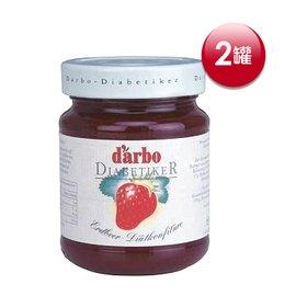 歐洲DARBO無糖草莓果醬2瓶組^(330公克 瓶^)