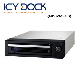 ICY DOCK 3.5吋SATA硬碟抽取盒 MB876SK~B