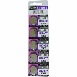 ~maxell~CR2032 3V鋰電池~5入