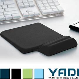 YADI 高緩壓機能舒壓滑鼠墊 ^(黑^)