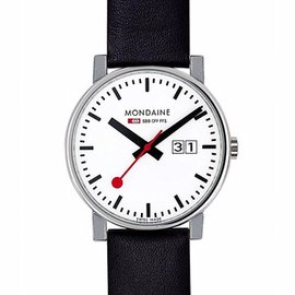 Mondaine 瑞士國鐵 4 公分大錶面腕錶