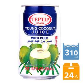 泰國TEP~TIP果粒椰子汁^(310mlx24入^)