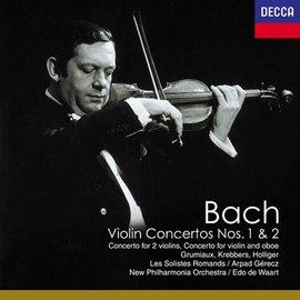 巴哈:第1、2號小提琴協奏曲 CD 企鵝唱片評鑑三星帶花