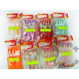 ◎百有釣具◎3.0寸亮片小管 ~ 各種釣法都可自行運用 顏色隨機出貨