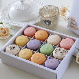 ~幸福預兆馬卡龍 ~7種口味 12顆裝macaron 甜點控最愛 少女酥胸 法國  小圓餅