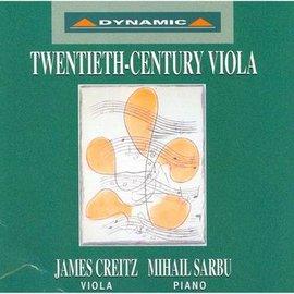 20世紀中提琴名曲 CDTwentieth~cent ury Viola CD