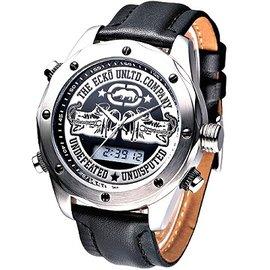 MARC ECKO 拳擊勇將雙顯 腕錶^(黑^)_E15079G1