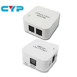 CYP DT~21 2~Port 光纖音源切換器