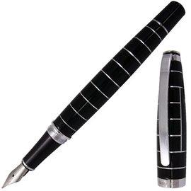 超立體弧型~帆船夾~rarefatto尚品黑琺瑯鋼筆