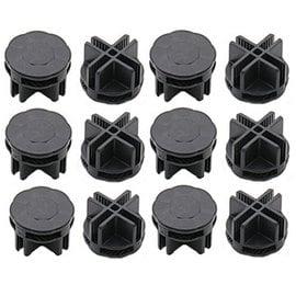 線徑4.8mm~ 采家~便利 式圓型接頭零件包  線徑4.8mm板片  12個
