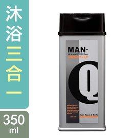 86折 頭 臉 身體MAN~Q S2柑橘薄荷全效潔淨露^(350ml^)