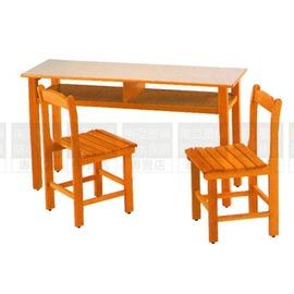 ^~南亞塑鋼 ^~補習桌^(桌面顏色象牙白 部分原木色^)^(07HY203~13OU01