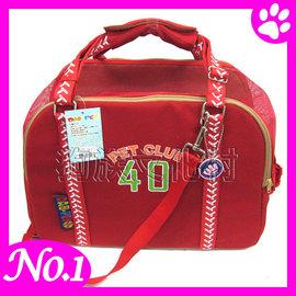 ~DAB.312B2好球寵物外出包~深藍 紅色擇~5kg內犬貓皆 高鐵捷運都 ,超質 ~左