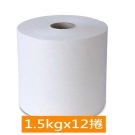 破盤▼2箱折 100 ~百吉牌~大捲筒擦手紙巾^(1.5kgx12捲 箱^)