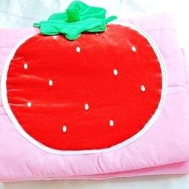 原售500元∥ ~May shop~可愛草莓抱枕涼被被子
