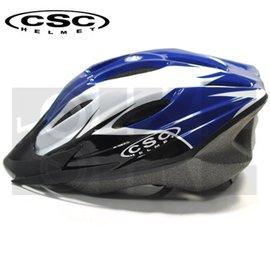 ~BIKE~ 11孔 CSC流線型安全帽^(藍^)