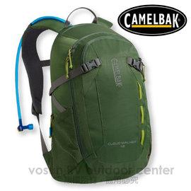 【美國 CAMELBAK】最新款 Cloud Walker 18L 超輕耐磨水袋背包(附2L水袋)_可當攻頂包.適自行車.越野跑步.登山健行/橄欖綠 CB62184