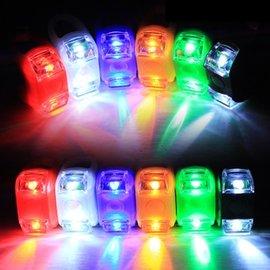 (多段LED顯示功能) 自行車/單車/腳踏車 青蛙燈/警示燈/車尾燈 (帶電池-單顆)