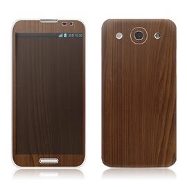 韓國知名SKINNYSKIN彩膜 LG Optimus G Pro E988  深色木紋