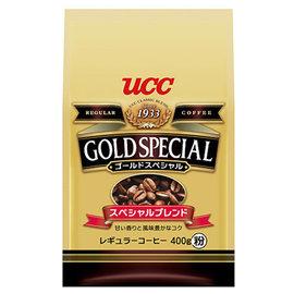 UCC金質 研磨咖啡粉 400g