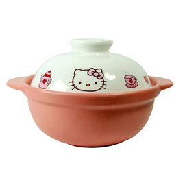 ~原 1800↘ 狂降~~三麗鷗 ~Hello Kitty高耐熱陶瓷鍋 砂鍋