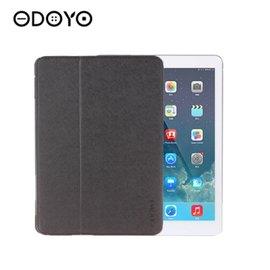 ODOYO iPad Air Aircoat 智慧休眠型超纖細保護套 ~晶湛黑^(PA53