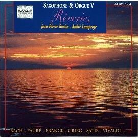 PAVANE ADW7364 薩克斯風管風琴抒情曲 Saxophone   Orgue ^