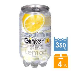 氣泡水↘1罐 27.2Glinter 加味氣泡水~檸檬風味^(4瓶^)