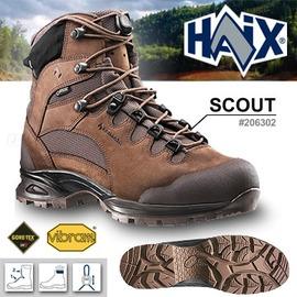 探險家戶外用品㊣206302 德國HAIX SCOUT偵搜高筒鞋(咖啡色) GORE-TEX科技 防水 透氣 軍靴戰鬥鞋