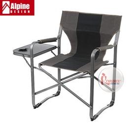 探險家戶外用品㊣EPC07 奧斯卡鋁合金導演椅 (附小折疊桌 超耐重100KG) 休閒椅折疊椅折合椅