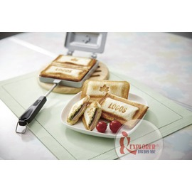 探險家戶外用品㊣NO.81062239 日本品牌LOGOS 楓烙三明治烤具 烤土司架 烤麵包架 烤吐司架烤盤