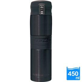 太和工房負離子能量彈扣式保溫瓶MD【450ml】黑黑色