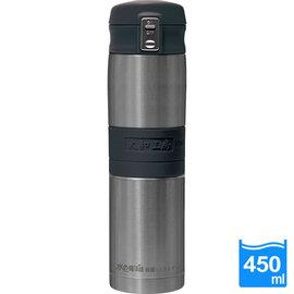 太和工房負離子能量彈扣式保溫瓶MD【450ml】不銹鋼原色