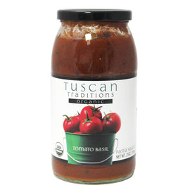 一語堂~美國Tuscan Tradition有機蘿勒蕃茄義大利麵醬