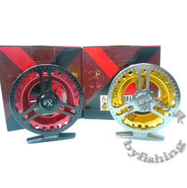 ◎百有釣具◎士貿 X6雙色前打輪ADG5/6  ~造型新穎  金屬質感高貴~再送母線