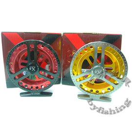 ◎百有釣具◎士貿 X6雙色前打輪ADG7/8 ~ 造型新穎  金屬質感高貴~再送母線