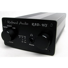 志達電子 RADWS 維凡德 Refined Audio 耳機擴大機  USB DAC 支