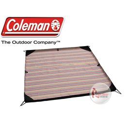 探險家戶外用品㊣CM-3391美國Coleman 防水野營墊 紅條紋/250 地墊 防潮墊 露營墊 睡墊