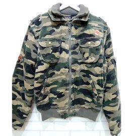 大降價^!^! 只要 499元 大男童 特厚外套 迷彩鋪棉厚外套 ^~庫庫諾爾^~ 加大