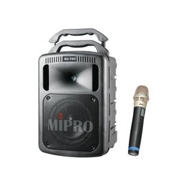 MIPRO MA~708 豪華型手提式無線擴音機 附兩支無線麥克風