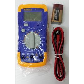 (台灣豪菱) HL-845 工程用 電子數位顯示 萬用電表/電錶 **多功能**