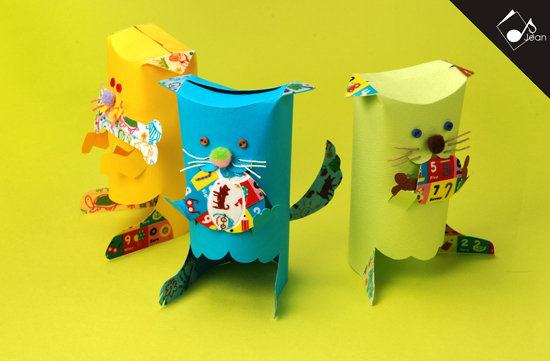 【 儿童纸胶带 / 森林动物 】 可爱的涂鸦,数字卡,小动物等图案 勾起