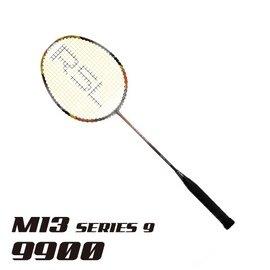 2014RSL羽球拍_M13 9900 racket 含單隻拍套 ~減震系列