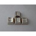 ^~銀鍵盤^~MKC 銀色箭頭方向鍵 金屬鍵帽~4顆1組