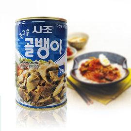 ~易購樂~韓國 大珠螺肉罐頭400g~1罐.可直接食用~配飯更對味~韓國 韓國食品料理